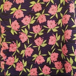 LuLaRoe Skirts - LuLaRoe Floral Cassie Pencil Skirt Medium SZ 10-12